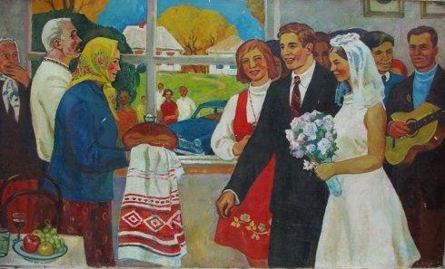 «Свадьба на селе» 1970 - Лоза Адольф Иванович