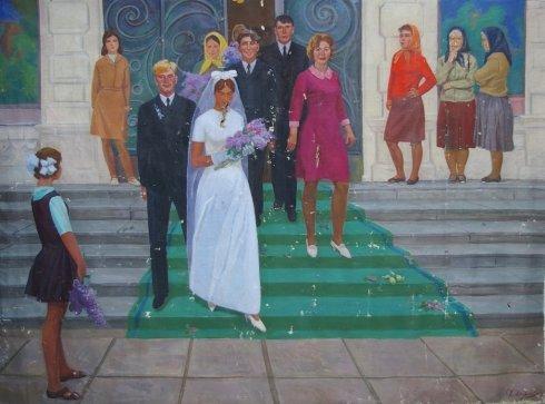 «Свадьба» 1973 - Хохлов Федор Иванович
