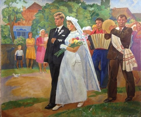 «Свадьба на селе» 1973 - Баумейстер Олег Викторович