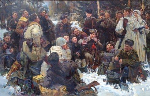 «Отдых после боя» 1974 - Бессонов Сергей Николаевич