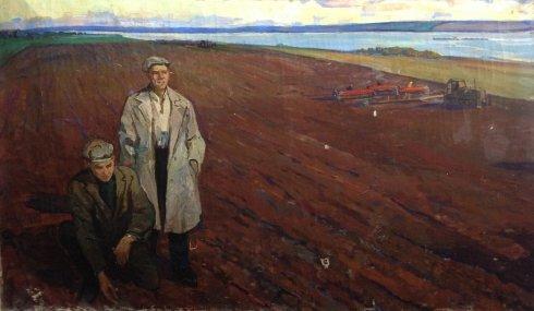 «Хлеборобы» 1960 е - Жуган Владимир Александрович