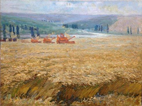 «Пшеница поспела» 1970 е - Жуган Владимир Александрович