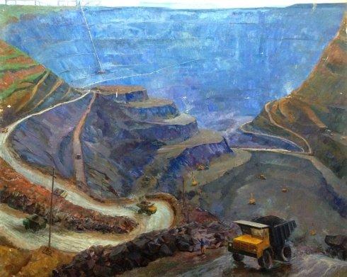 «Голубой карьер» 1976 - Грибок Дмитрий Константинович