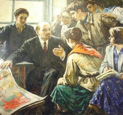 «Ленин и молодежь» 1960 е - Хитриков Василий Пименович