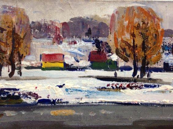 «Зимняя река»-Жуган Владимир Александрович
