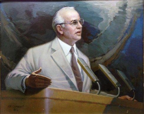 «Мир победит. М.С. Горбачев» 1987 - Семенов Александр Иванович