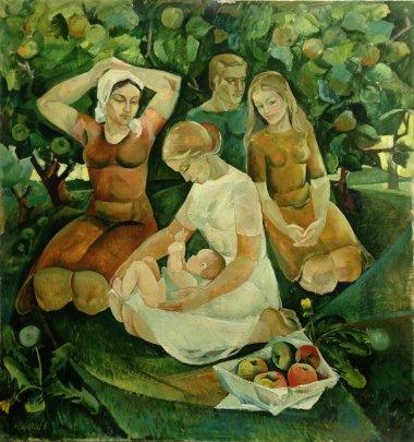«Материнство» 1976 - Яковлева Лариса Аркадьевна