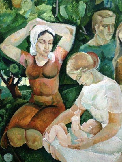 «Материнство»-Яковлева Лариса Аркадьевна