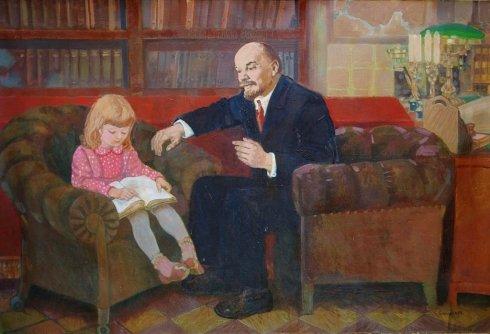 «С Ильичем» 1970 е - Зарецкая-Григорьева (Нечипоренко) Майя Сергеевна