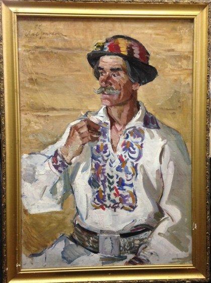 «Портрет «Старый Бокараш»-Лавриненко Вячеслав Иванович