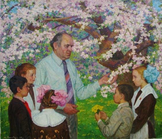 «Будущие Садоводы» 1987 - Романишин Михаил Николаевич