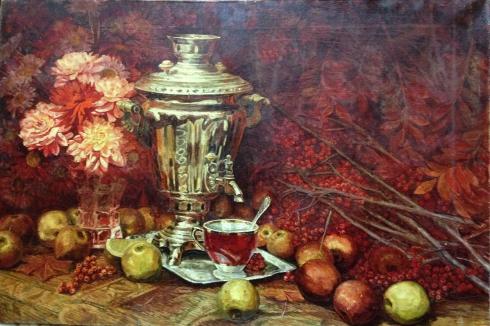 Натюрморт «Осень» 1970 е - Шавырин А.И.