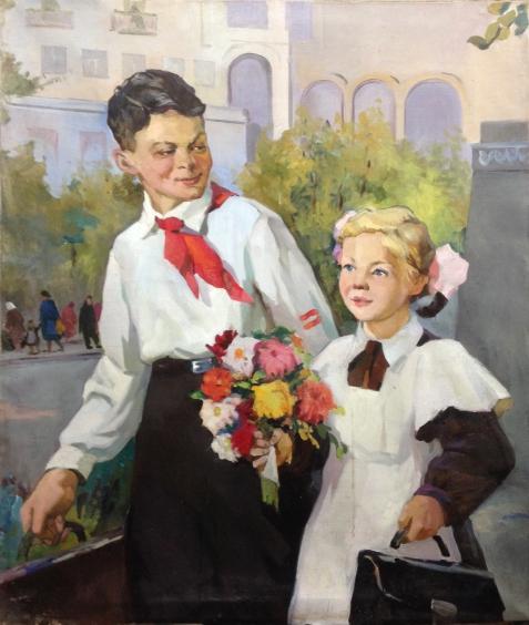 «Первый раз-в первый класс !»-Васецкий Григорий Степанович