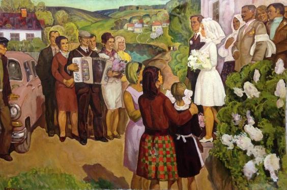 «Свадьба на селе» 1970 - Беккер Давид Юльевич