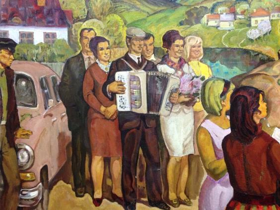 «Свадьба на селе»-Беккер Давид Юльевич