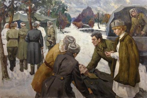 «Медсанбат под Москвой» 1981 - Калиновский Константин Трофимович