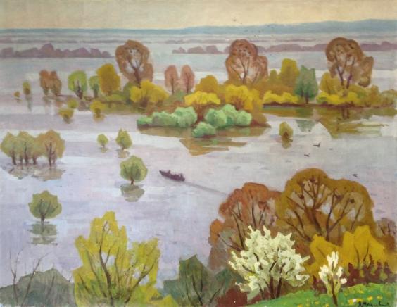 «Весеннее половодье» 1974 - Мациевская Ядвига Александровна