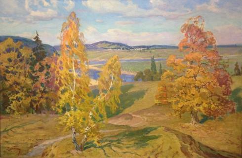 «Осень» 1968 - Дубиш Иван Иванович