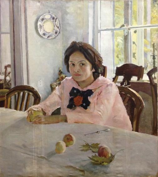 «Девочка с персиками»-«Девочка с персиками»