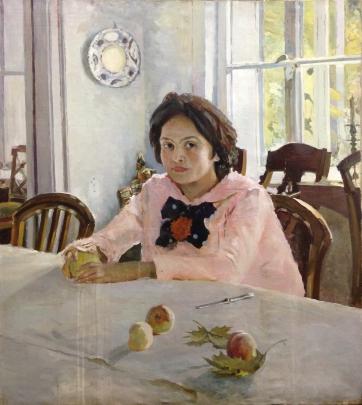 «Девочка с персиками» 1950 е - «Девочка с персиками»