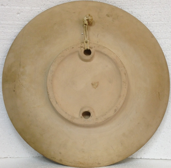 ЛКСФ Декоративная тарелка «Дева», авторская-ЛКСФ Декоративная тарелка «Дева», авторская