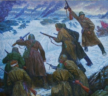 «Битва за Москву» 1970 е - Солодовников Алексей Павлович