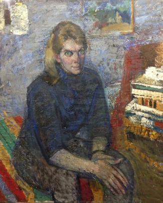 «Портрет студентки» 1971 - Хмельницкий Александр Анатольевич