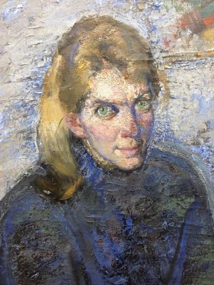 «Портрет студентки»-Хмельницкий Александр Анатольевич