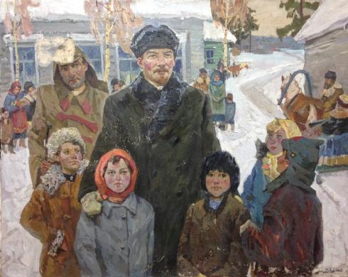 «Ленин и дети» 1989 - Кокин Михаил Александрович