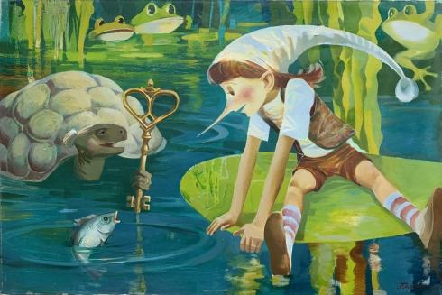 «Золотой ключик, или ПриключенияБуратино» 1988 - «Золотой ключик, или ПриключенияБуратино»