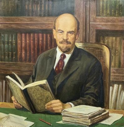 «В.И. Ленин в кабинете» 1982 - Антончик Михаил Владиславович