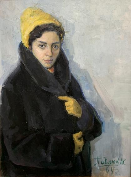 «Портрет супруги»-Павлюк Альберт Семенович
