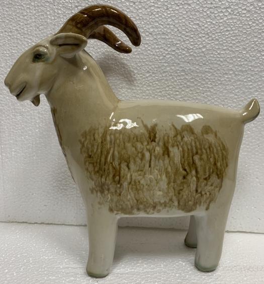 Декоративная статуэтка «Козленок» ЛКСФ, авторская 1950 е - Декоративная статуэтка «Козленок» ЛКСФ, авторская
