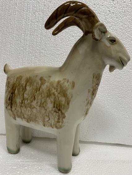 Декоративная статуэтка «Козленок» ЛКСФ, авторская-Декоративная статуэтка «Козленок» ЛКСФ, авторская
