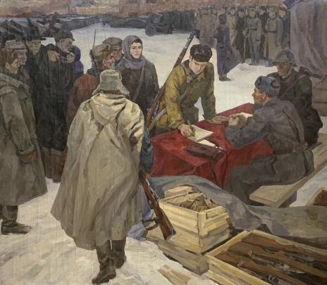 «Народное ополчение» 1970 е гг.  - Журавлев Виктор Никифорович