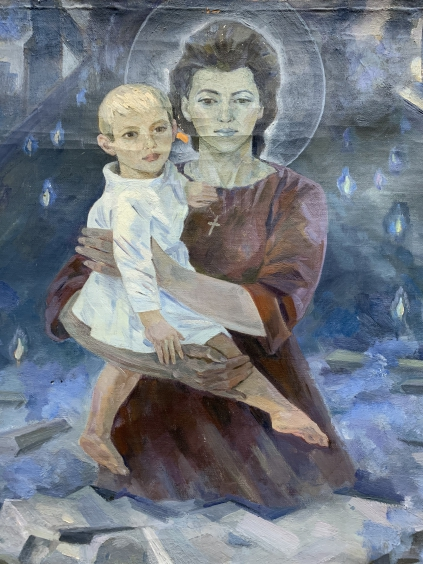 «Шахтерская Мадонна»-Журавлев Виктор Никифорович
