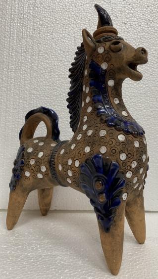 Декоративная статуэтка «Лошадь», авторская, Опошня.-Омеляненко Василий Ануфриевич