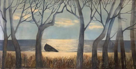 Пейзаж «Кинбурнская коса» 1970 е - Пейзаж «Кинбурнская коса»