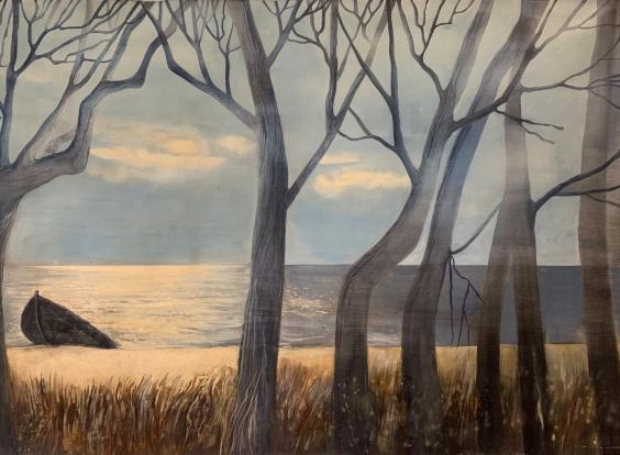 Пейзаж «Кинбурнская коса»-Пейзаж «Кинбурнская коса»