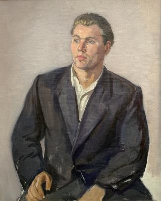 Портрет «Шахтопроходчик» 1959 - Чалый Николай Федорович