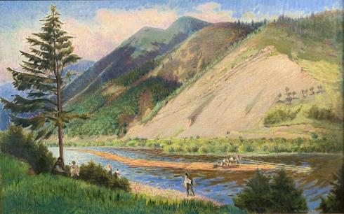 «Горы на Черемошем» 1990 - Чалый Николай Федорович