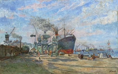 «Ильичевский морской порт» 1970 е - Соколова Лилия Ивановна