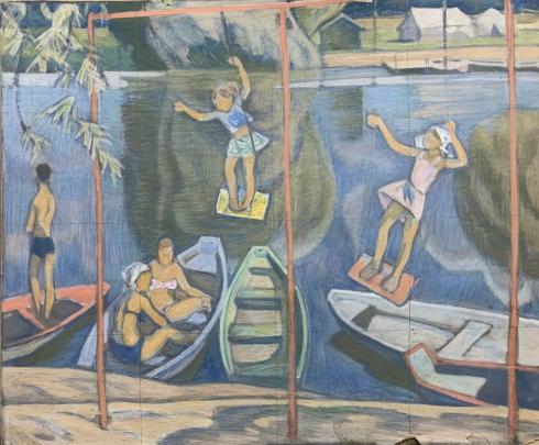 «Лето. Веселые качели» 1960 е - Сафаргалин Асхат Газизулинович