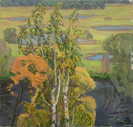 «Гляжу в озера синие..» 1978 - Юзефович Наталья Владимировна