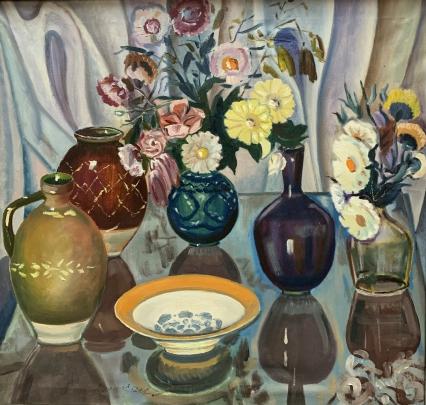 «Натюрморт с кувшинами» 1940-1950 е - «Натюрморт с кувшинами»