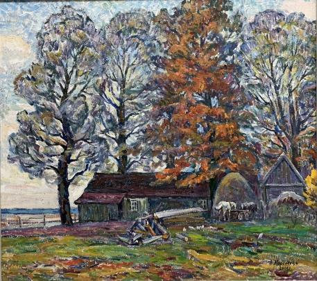 «Осень в Олешни» 2006 - Мордовец Андрей Никитович