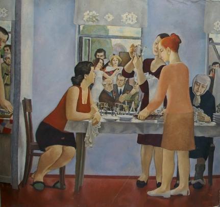«Праздник. 9 Мая» 1974 - Исаев Сергей Иванович