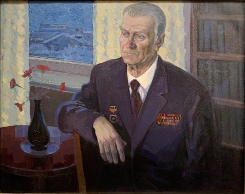 «Портрет Юдина В.В.» 1970 е гг.  - Кирилков Валентин Феодосьевич
