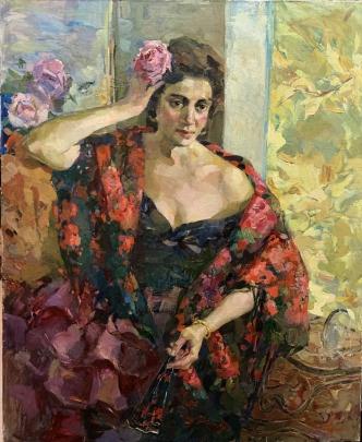 «В саду» 1992 - Титаренко Мария Анатольевна