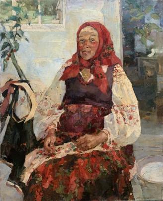 «Портрет Пелагеи» 1992 - Титаренко Мария Анатольевна